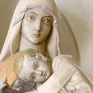 The virgin of the closteir ; sculpture of Henri Charlier