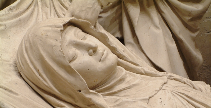 tomb of Our Lady Solesmes