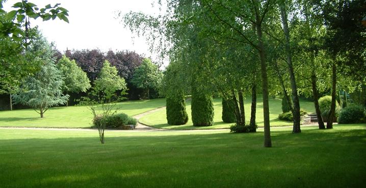 garden solesmes