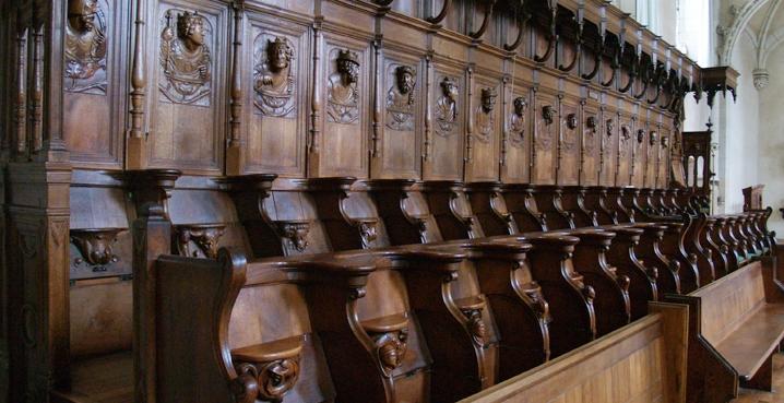 choir stalls solesmes