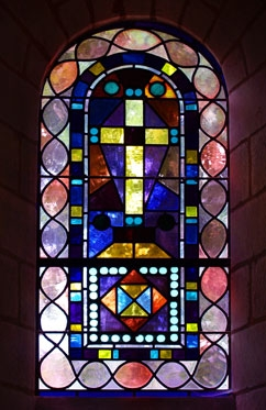 stained glass  solesmes